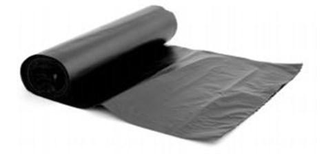 10 Mil 20 X 100 Black Polyfilm Visqueen Plastic Sheeting White Cap