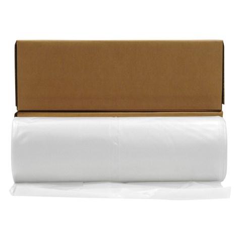 Husky 10 Mil X 100 X 20 White Visqueen Polyethylene Plastic Sheeting 1 Rl White Cap