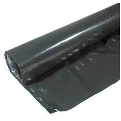 4 Mil 10 X 100 Black Polyfilm Visqueen Plastic Sheeting Hd Supply White Cap