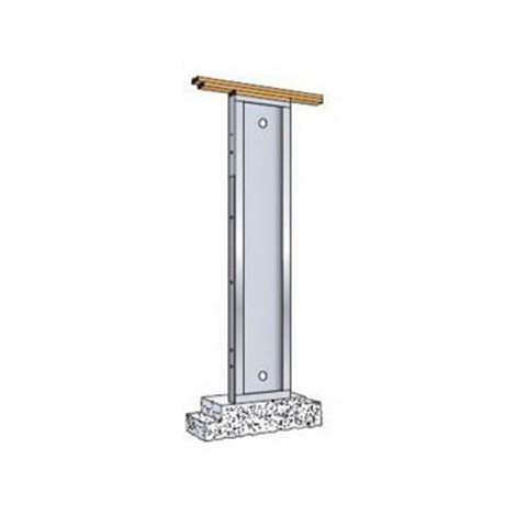 Hardy Frame Hfx 12 X 78 Use With 1 1 8 Bolt White Cap