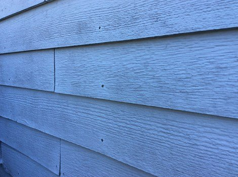 12 Masonite Siding White Cap