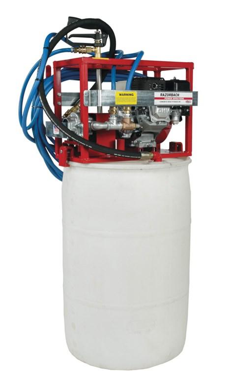 Allen 7560xl 4 Hp Power Sprayer With 100 Hose Hd Supply White Cap